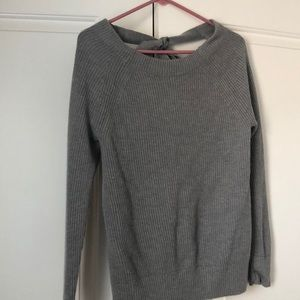 Banana republic open back sweater